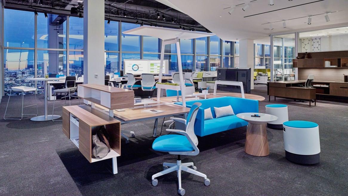 Three Bivi Desks wth Blue Jay Rumble Seat and Bivi Canopy