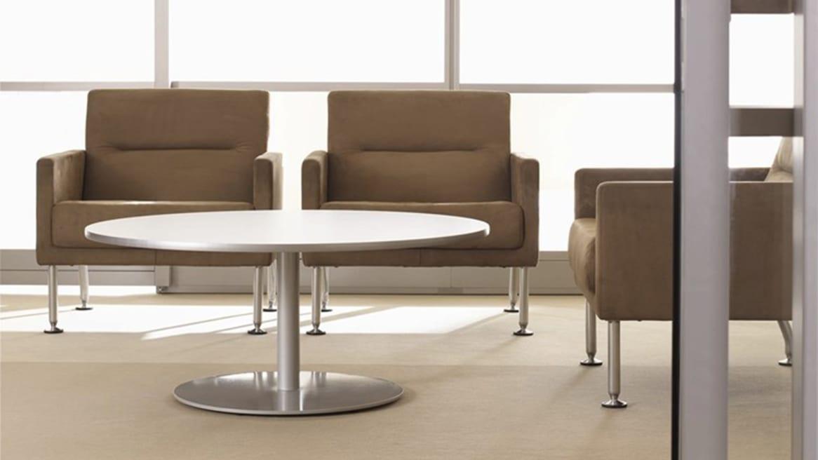 Enea Coffee Table in a lounge area