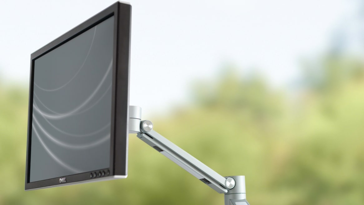 Volley Flat Panel Arm is the monitor arm, made simple