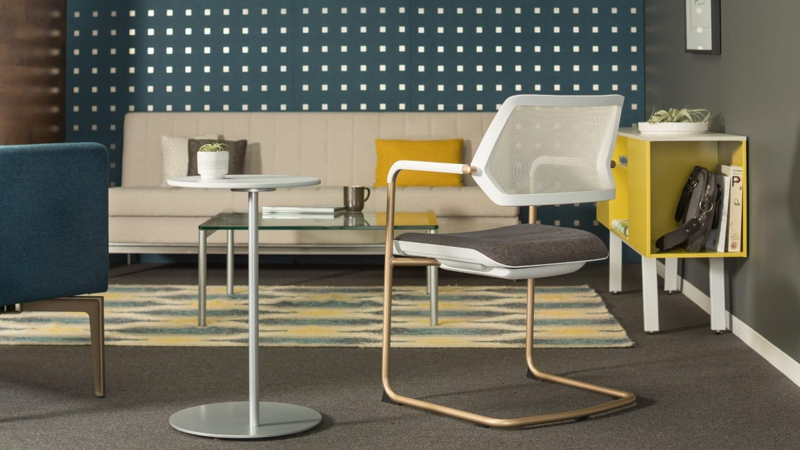 QiVi Offce Chair in lounge workspace