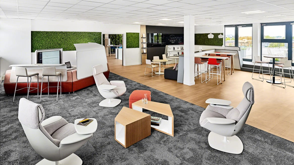 strasbourg business center, open space