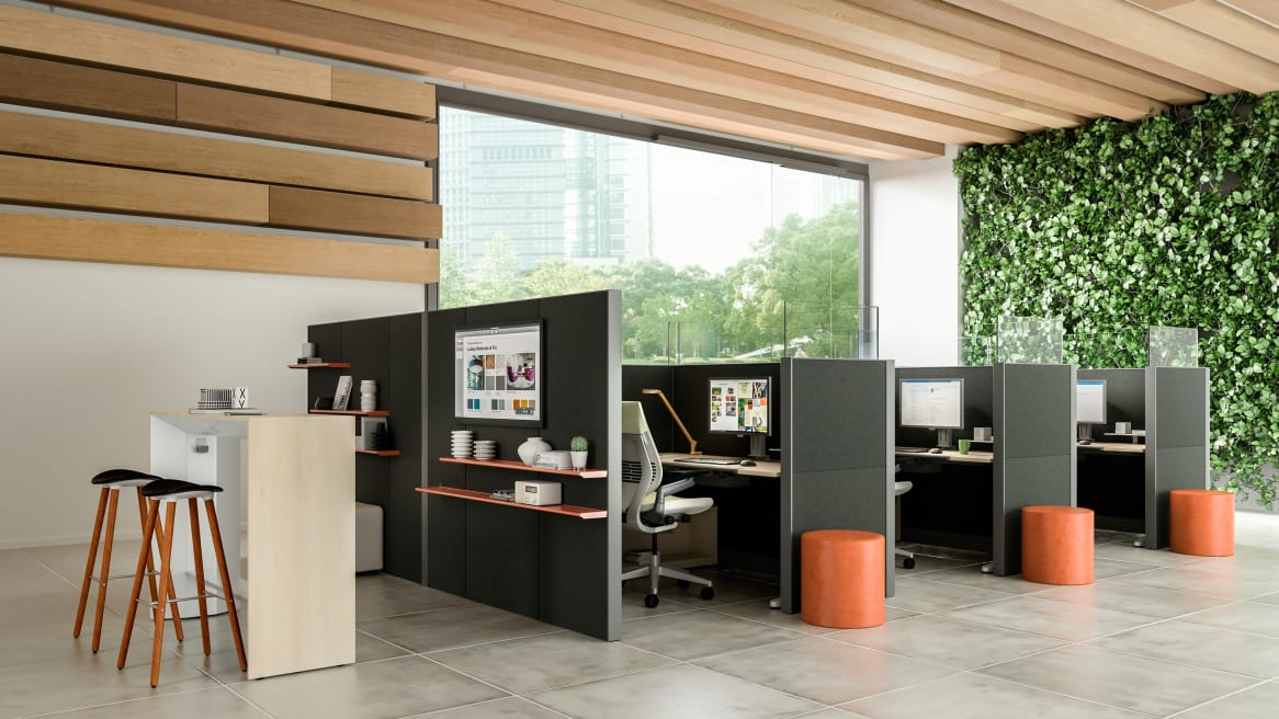 Answer panel workstations