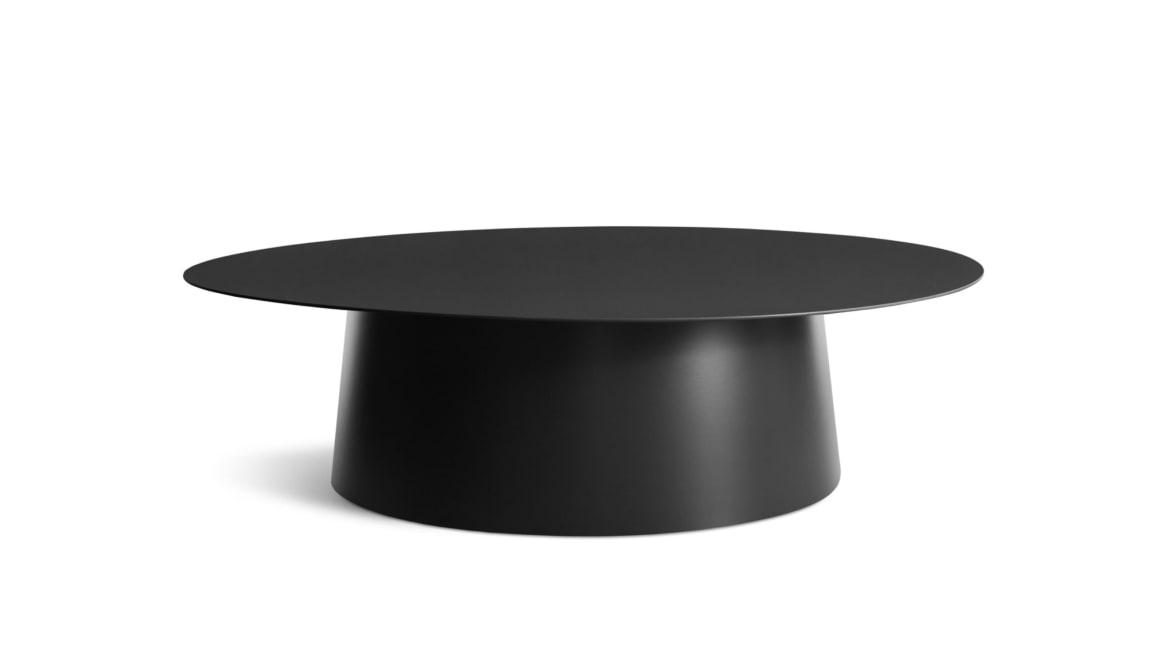 Circular Large Table On White