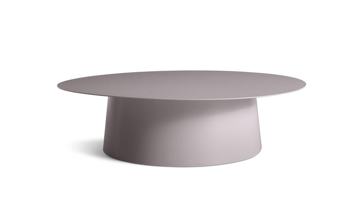 Circula Large Coffee Table On White