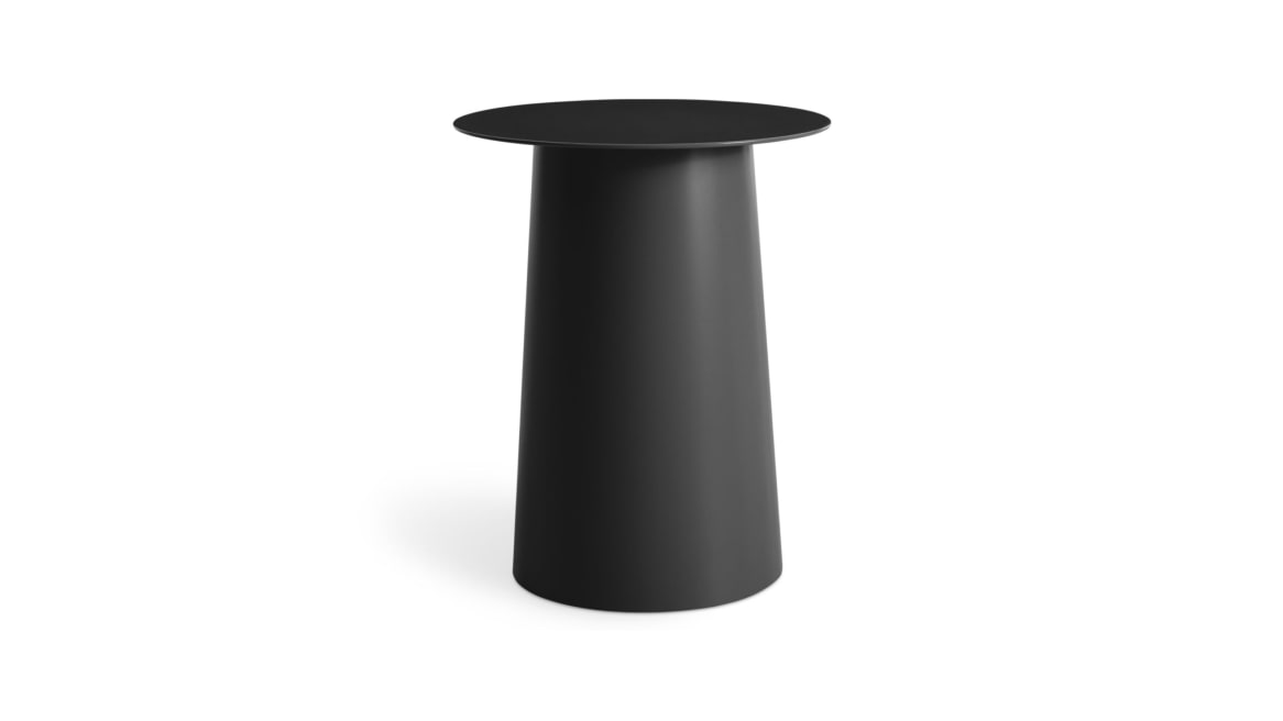 Circula Tall Side Table On White
