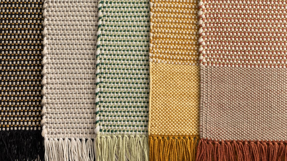 Coalesse Nanimarquina Mesh Rug in five different colors