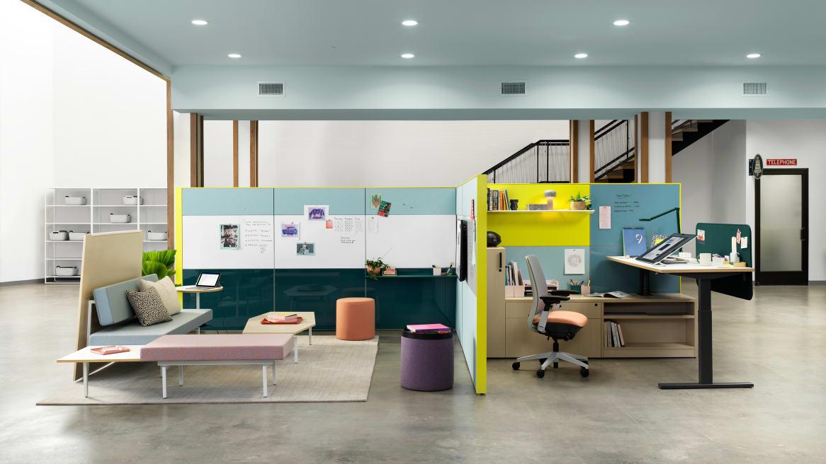 Resident Workstation, Focus, Collaboration Answer, Sylvi, Series 2 Chair