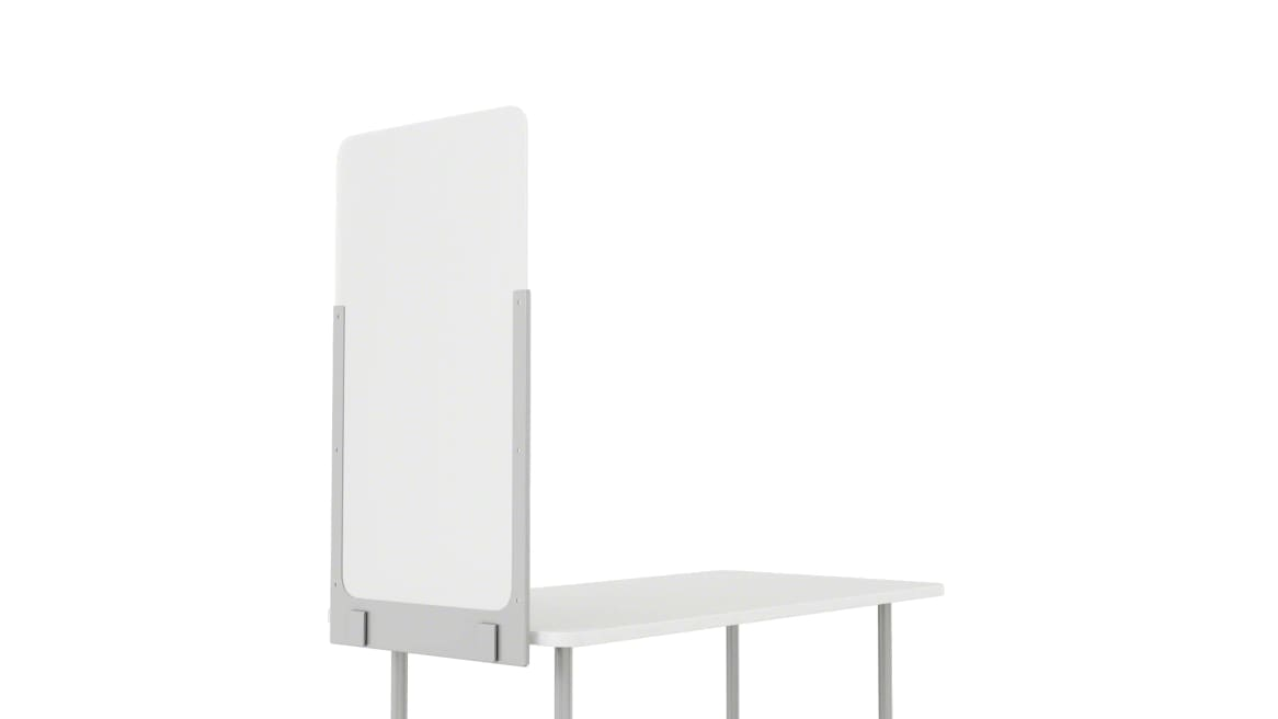 on white image of Steelcase Health Separation Screen
