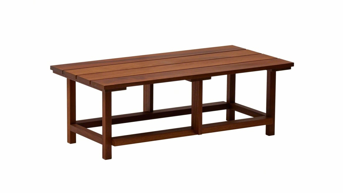 brown Clerici outdoor table