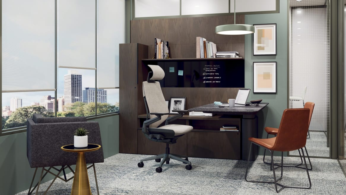 environment image of private office with Mackinac and Gesture
