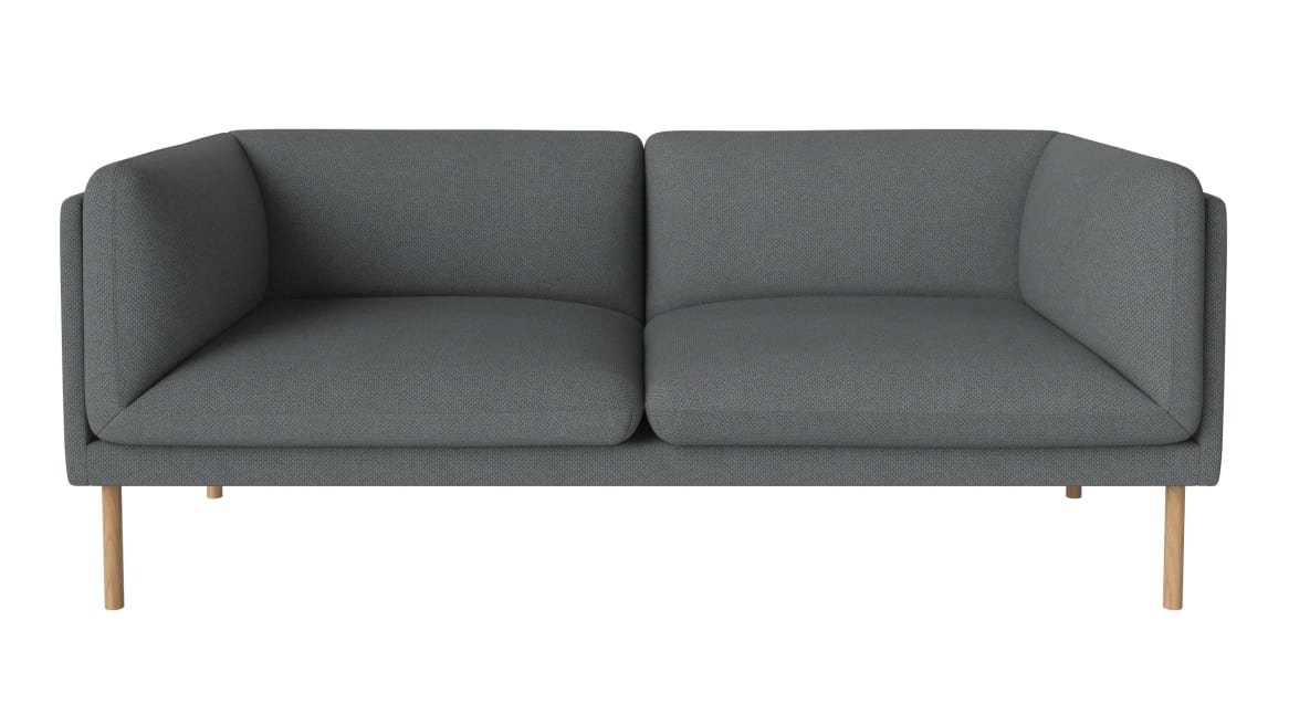 gray 2-seater paste sofa serie