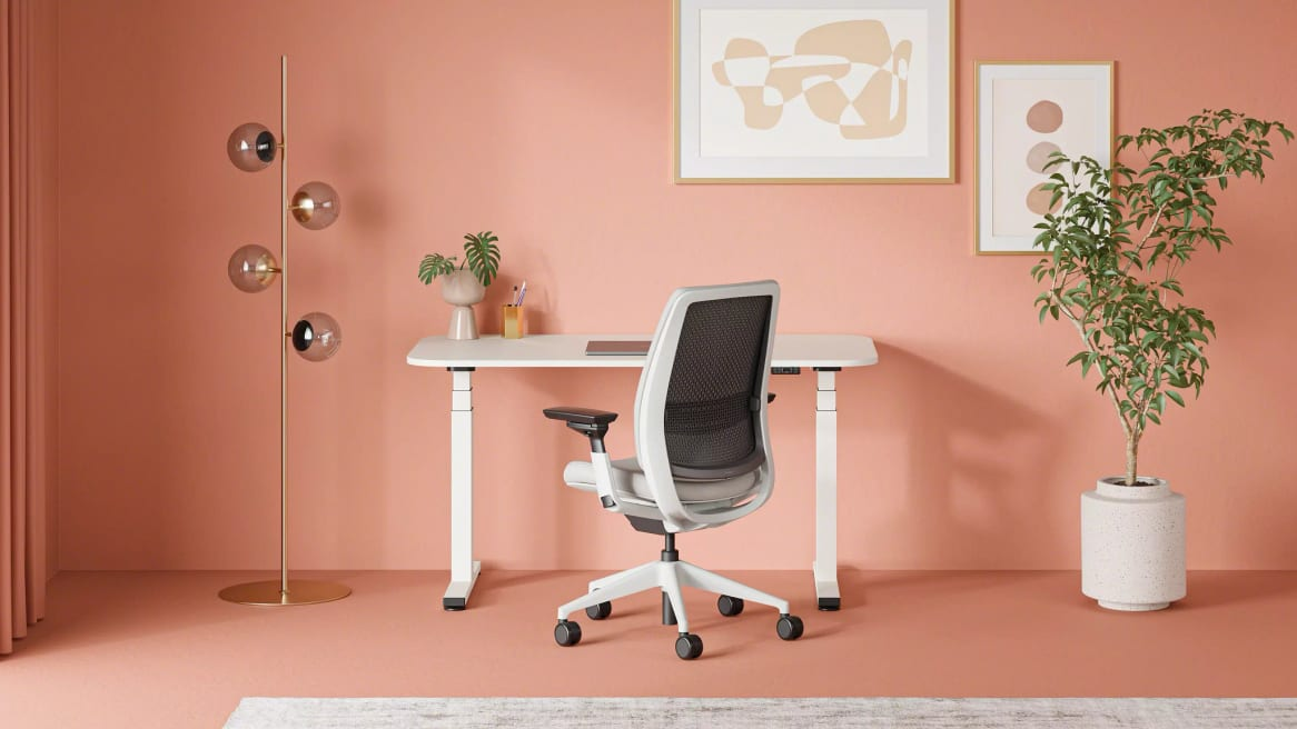 Steelcase Series 2 Solo Sit-to-Stand Desk