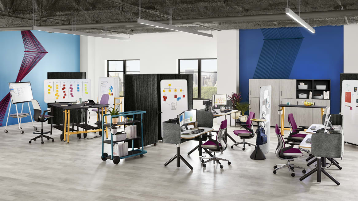 Steelcase Flex Collection in office environment