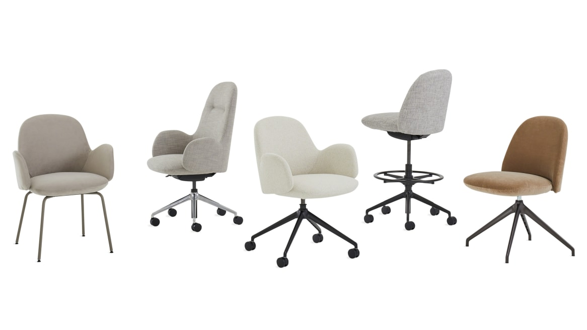 Kent Collection chairs on white background