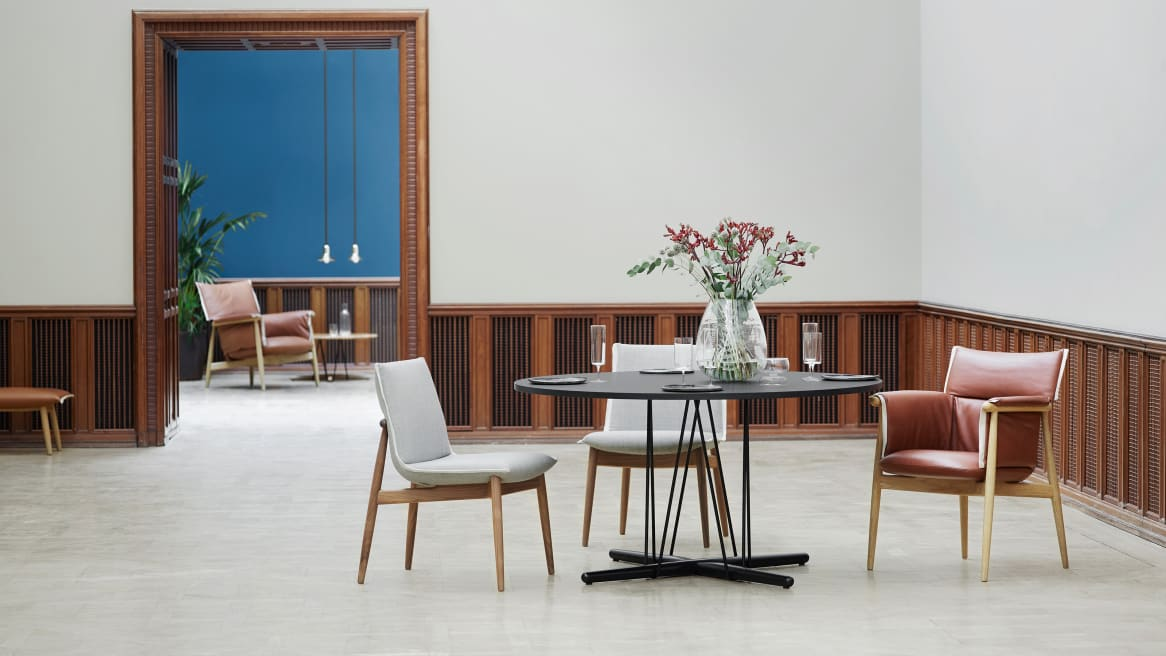 Embrace Dining Table in dining area
