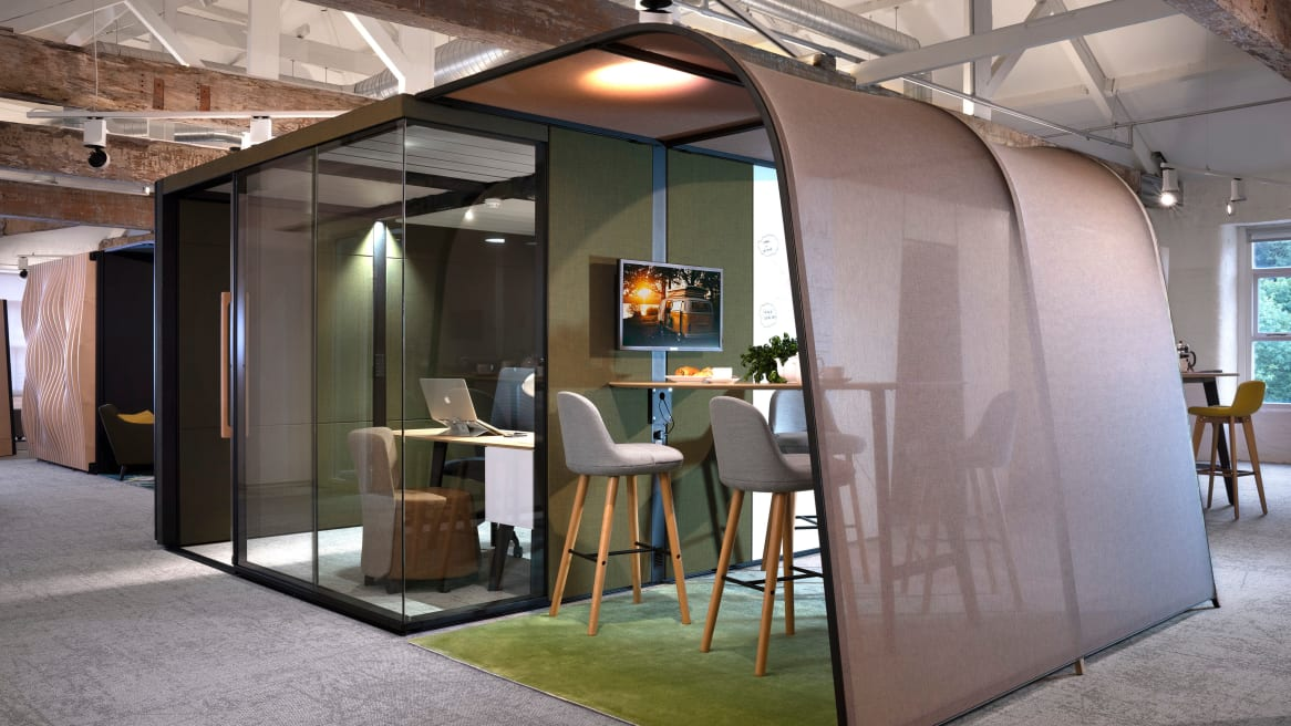 Campers & Dens in office environment