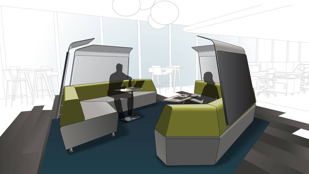 Shielded Conversation Lounge, The Privacy Solution, 360 Magazine