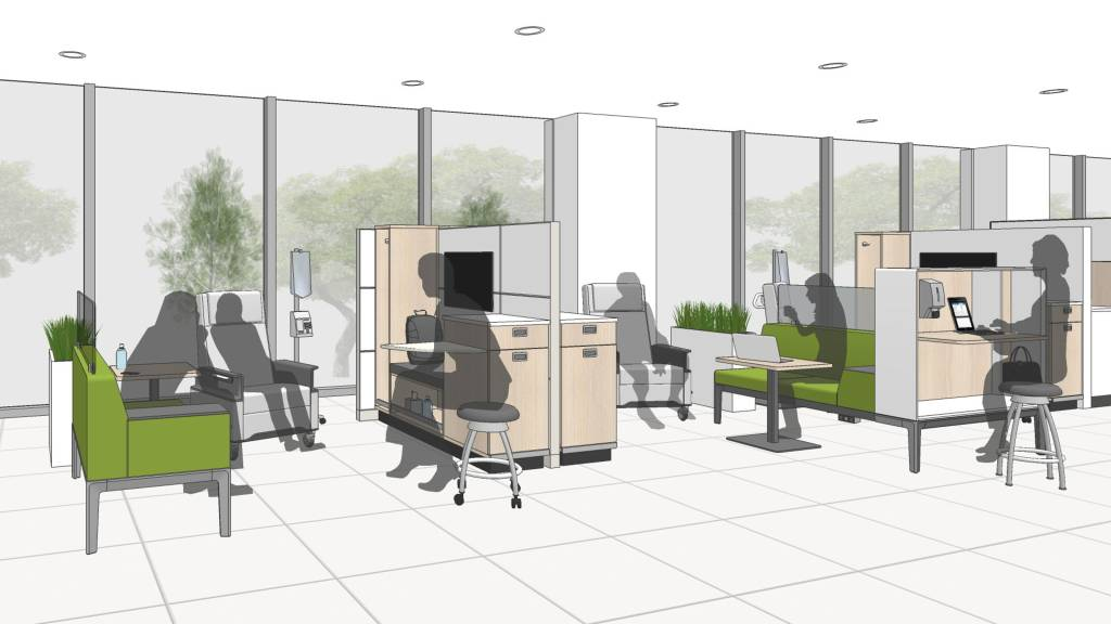 Patient Safety Support Infusion Therapy Space Design Steelcase