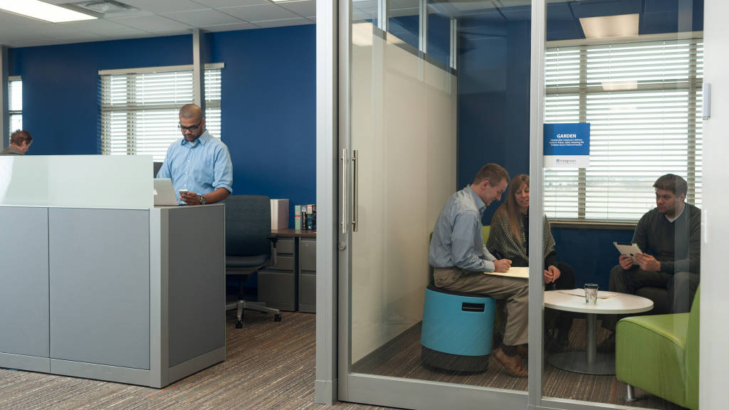 Integreon Fargo Huddle Rooms