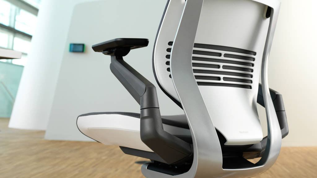 close up view of Gesture office chair