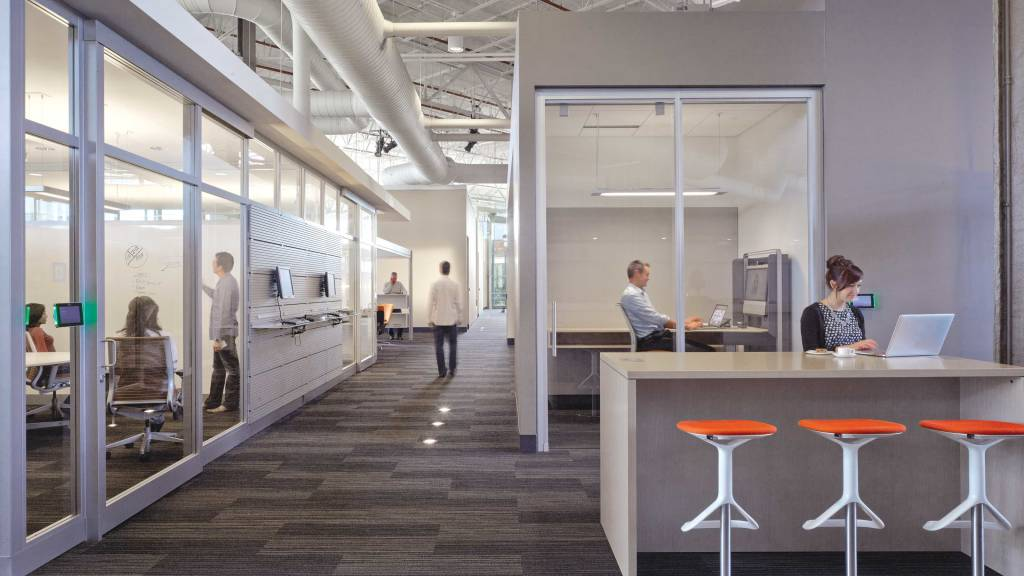 The Best Place Strategy Creates A Campus Environment With An Ecosystem Of Spaces That Support Focused Work Collaboration Learning Socializing And