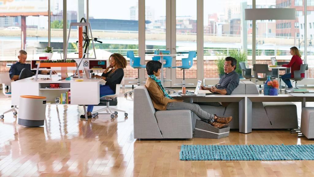 Alternative Atmospheres In The Office Steelcase