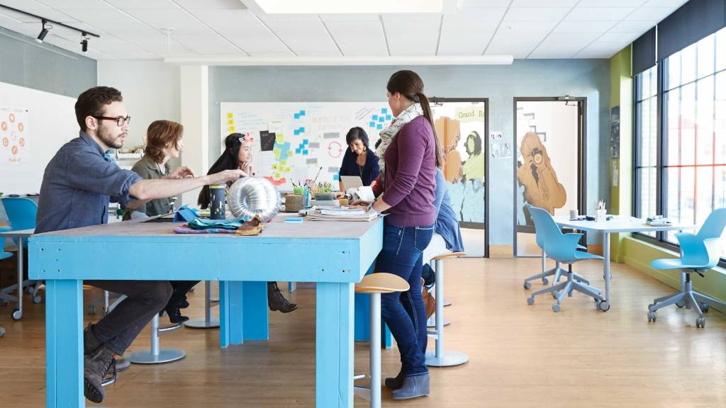 Innovative Classroom Practices ~ Make way for the makers movement steelcase