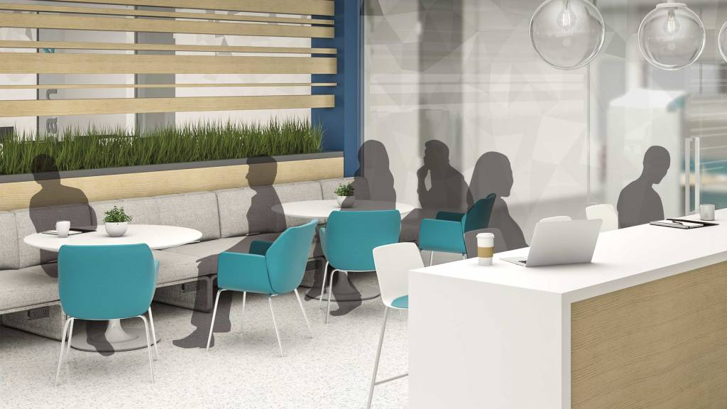 Design spaces to be multifunctional: Use reception areas, lobbies and cafes as spaces for informal collaboration and socialization.