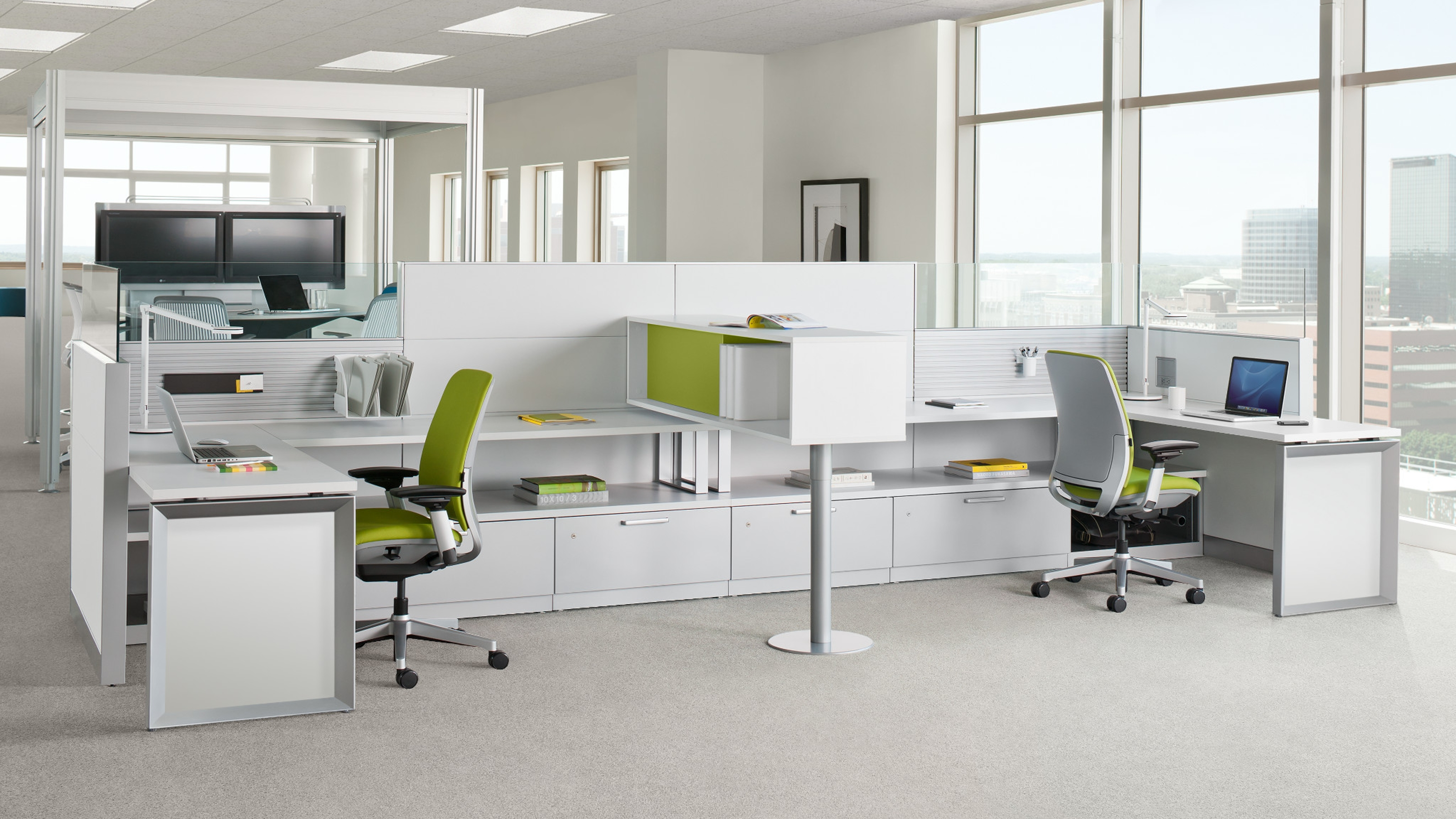 Answer office workstations panel systems steelcase for Office design help