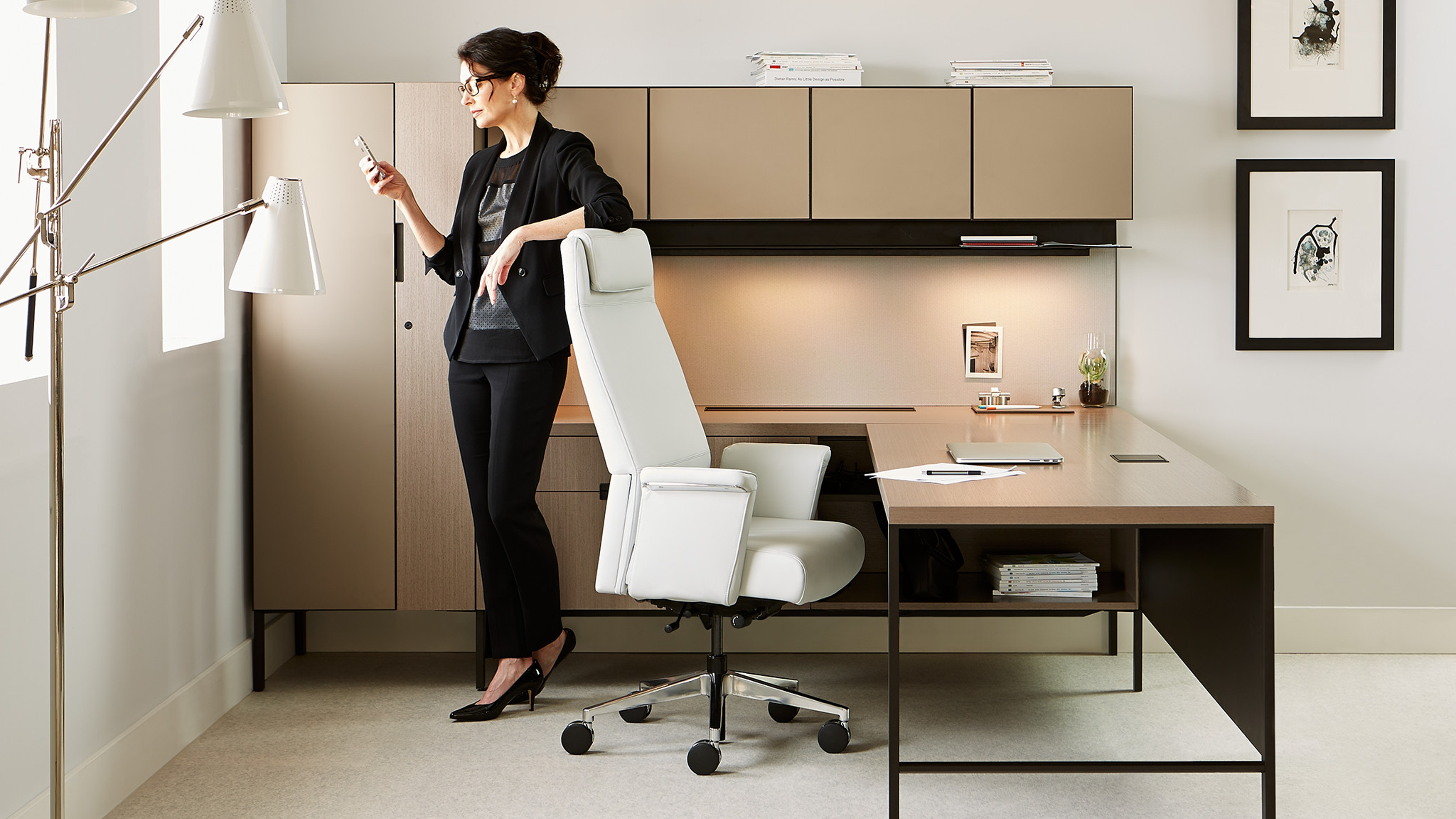 elective elements freestanding office workstation - steelcase