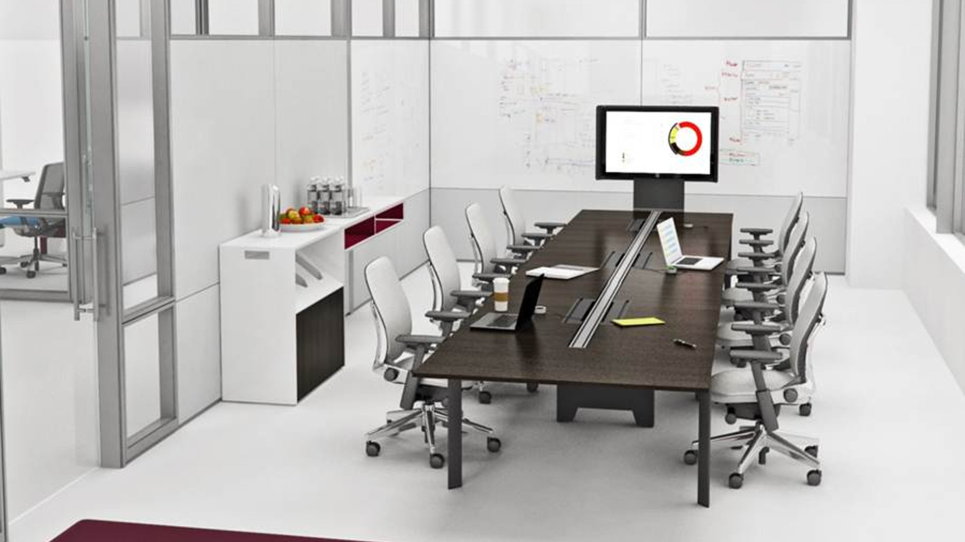 Frameone Benching Amp Office Workstation Steelcase