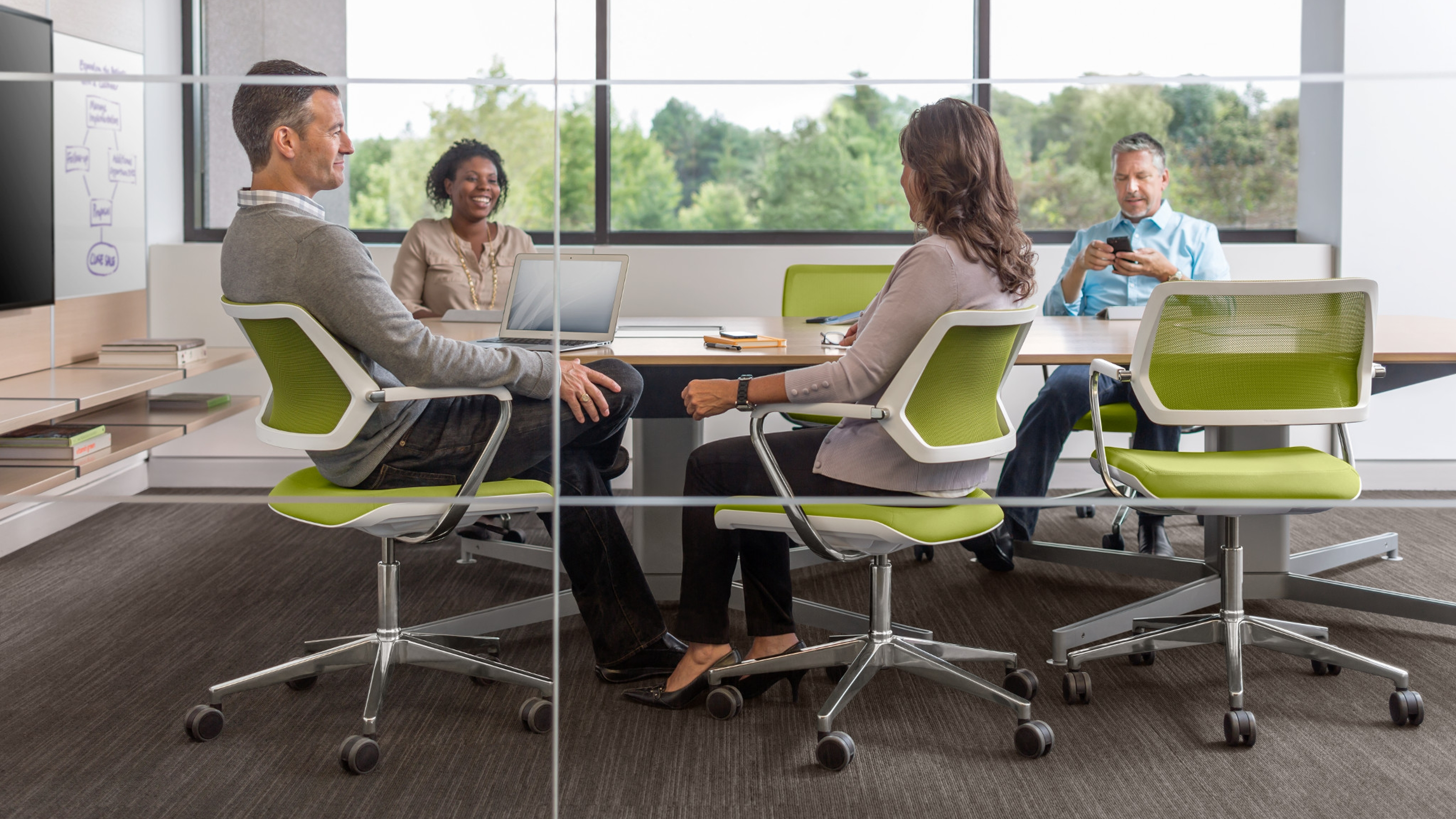 QiVi Meeting & Conference Room Seating Steelcase
