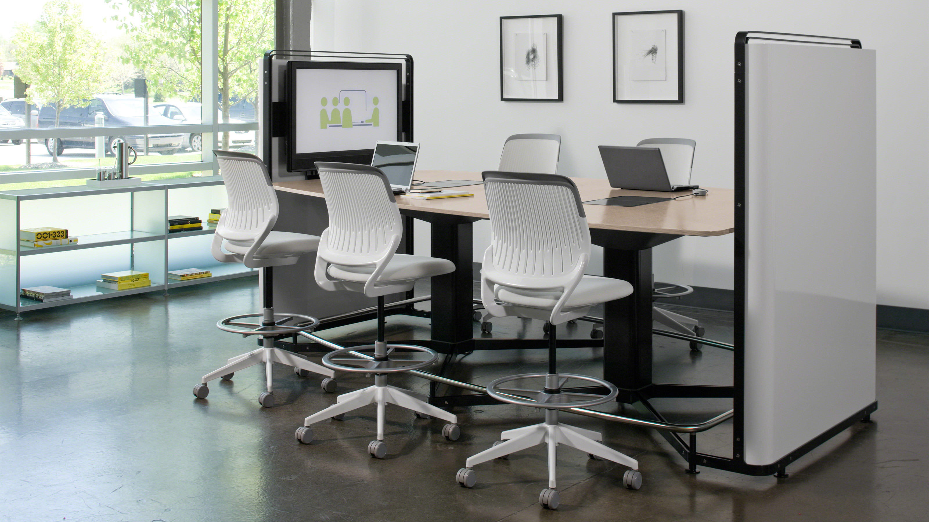 Cobi office chairs collaborative seating steelcase for Chaise design eams