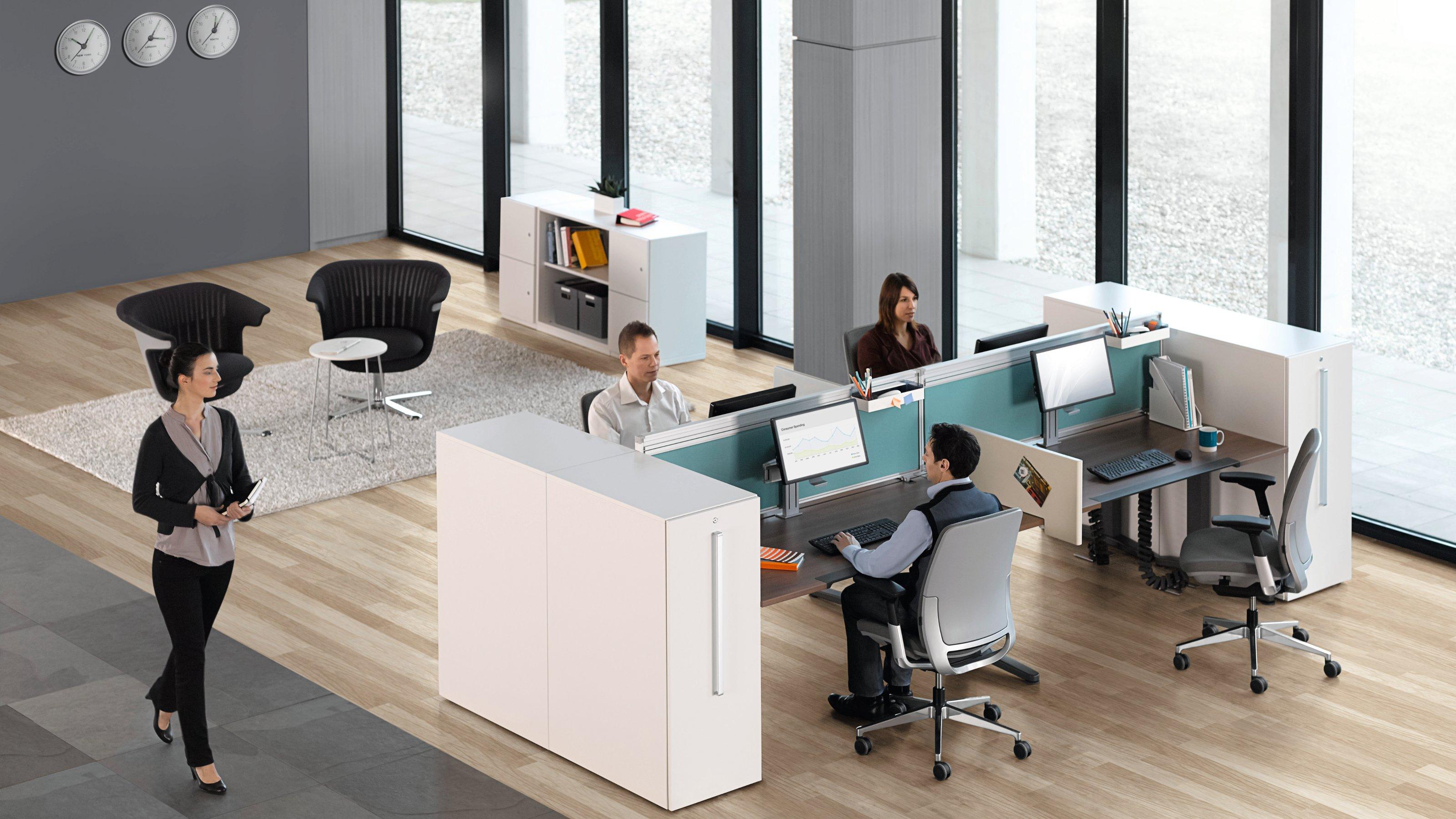 Steelcase Baut Vorreiterrolle Im Bereich Nachhaltigkeit Aus Cradle To  Cradle™ Zertifizierung Für Das Schreibtisch System Ology.   Steelcase