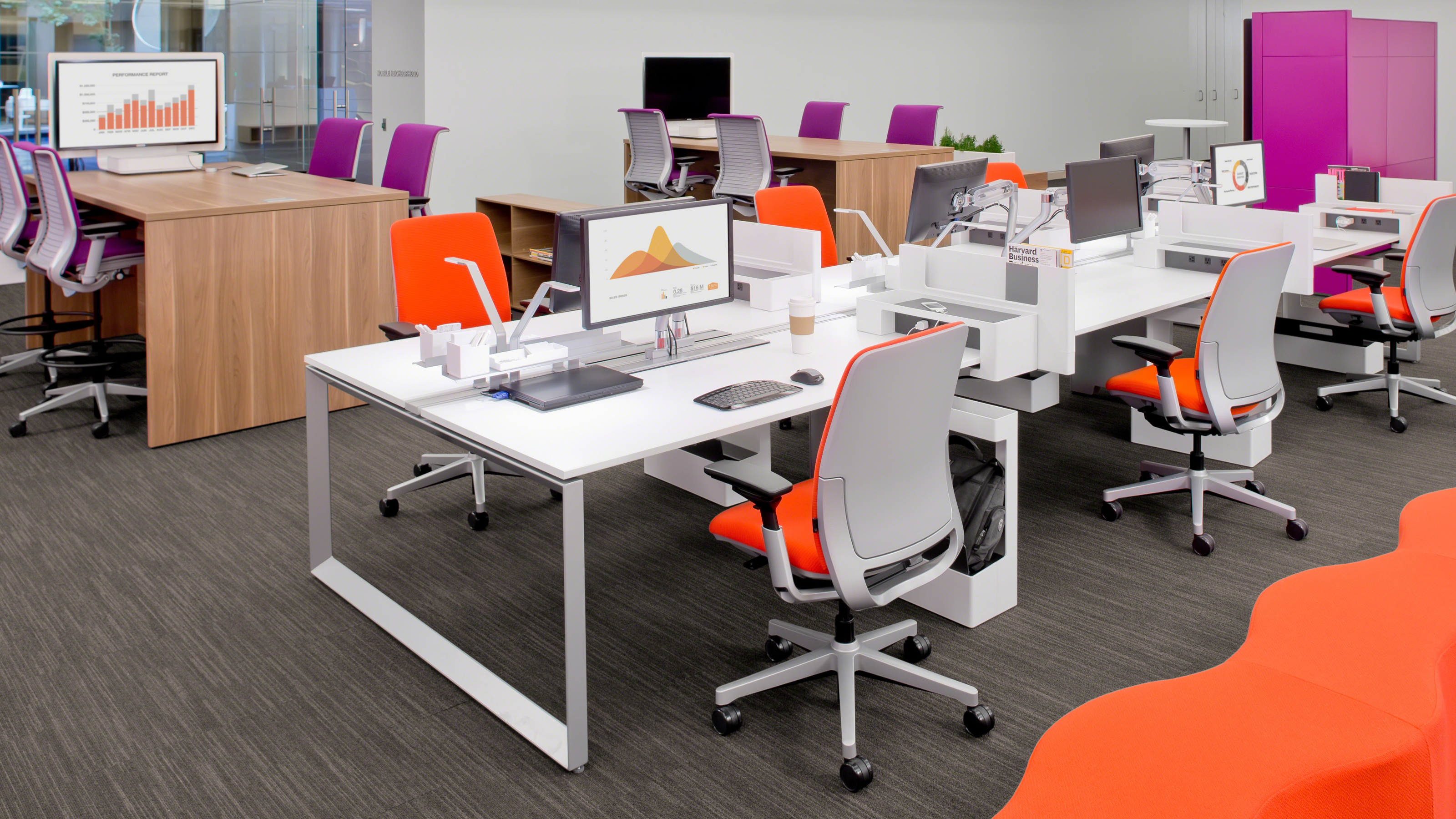 Office Furniture Chairs And Tables amia ergonomic office chair & seating - steelcase