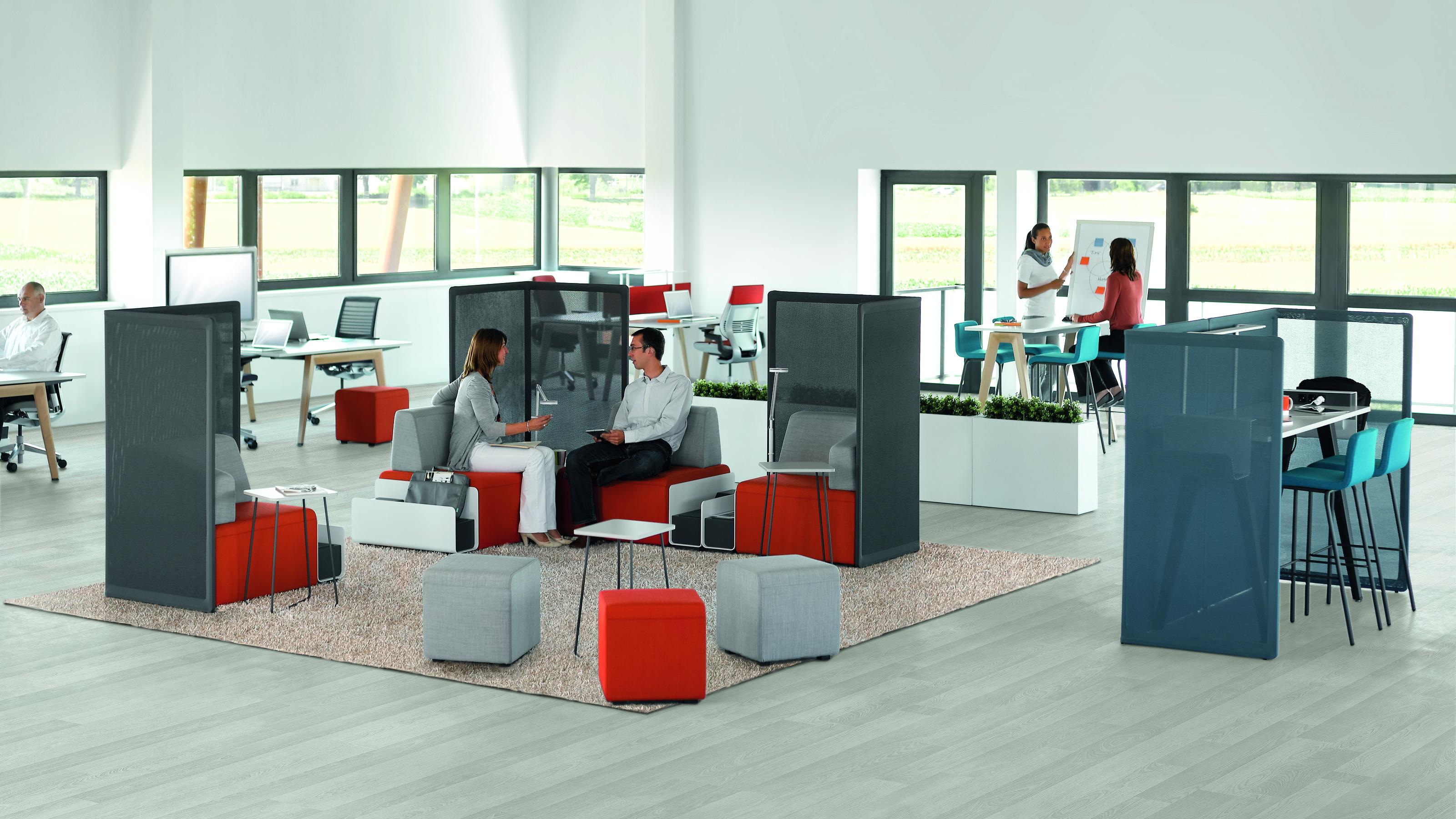 Steelcase b free lounge möbel beistelltische und stehtische