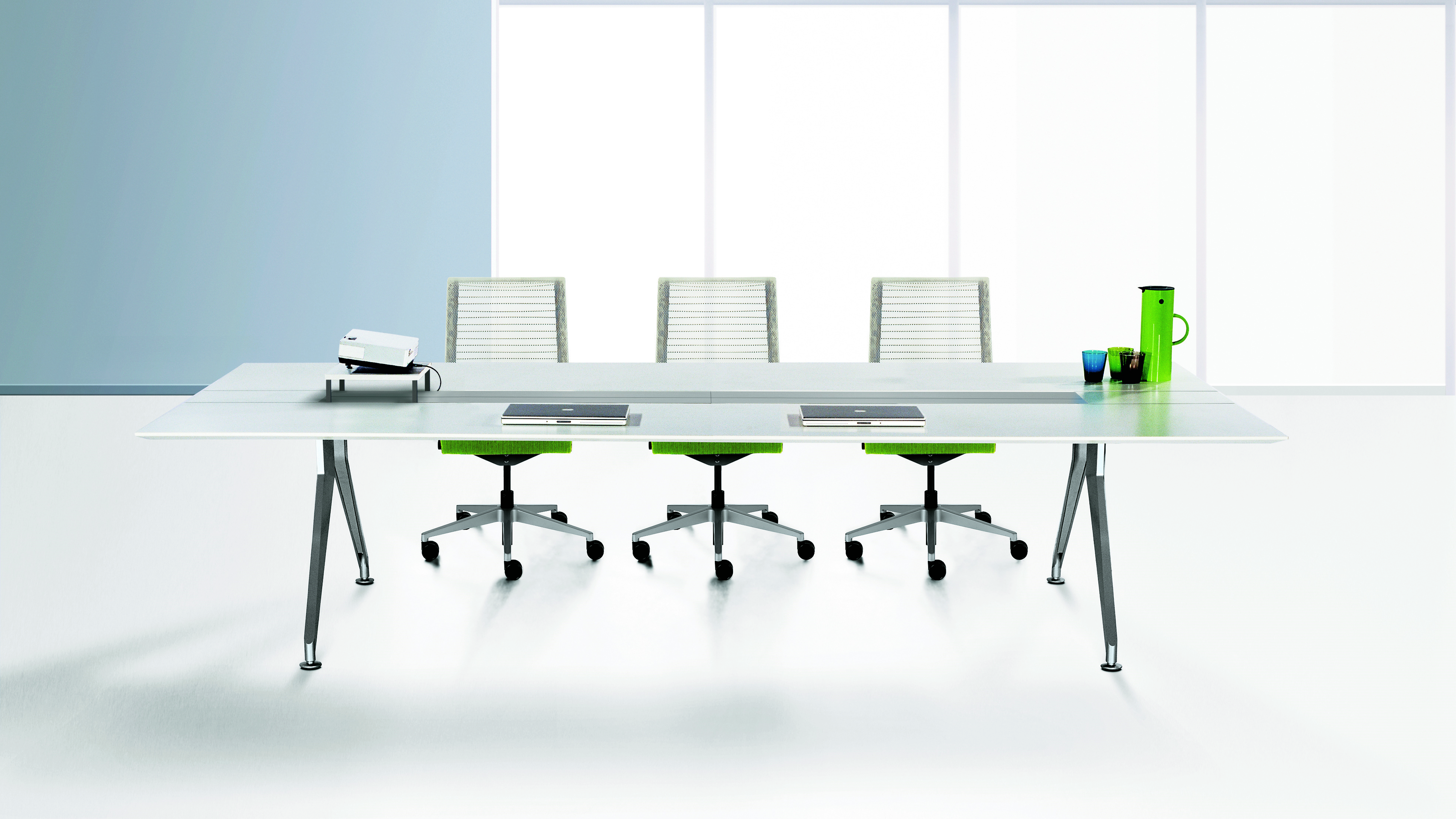 4.8 Four Point Eight Meeting Table - Steelcase