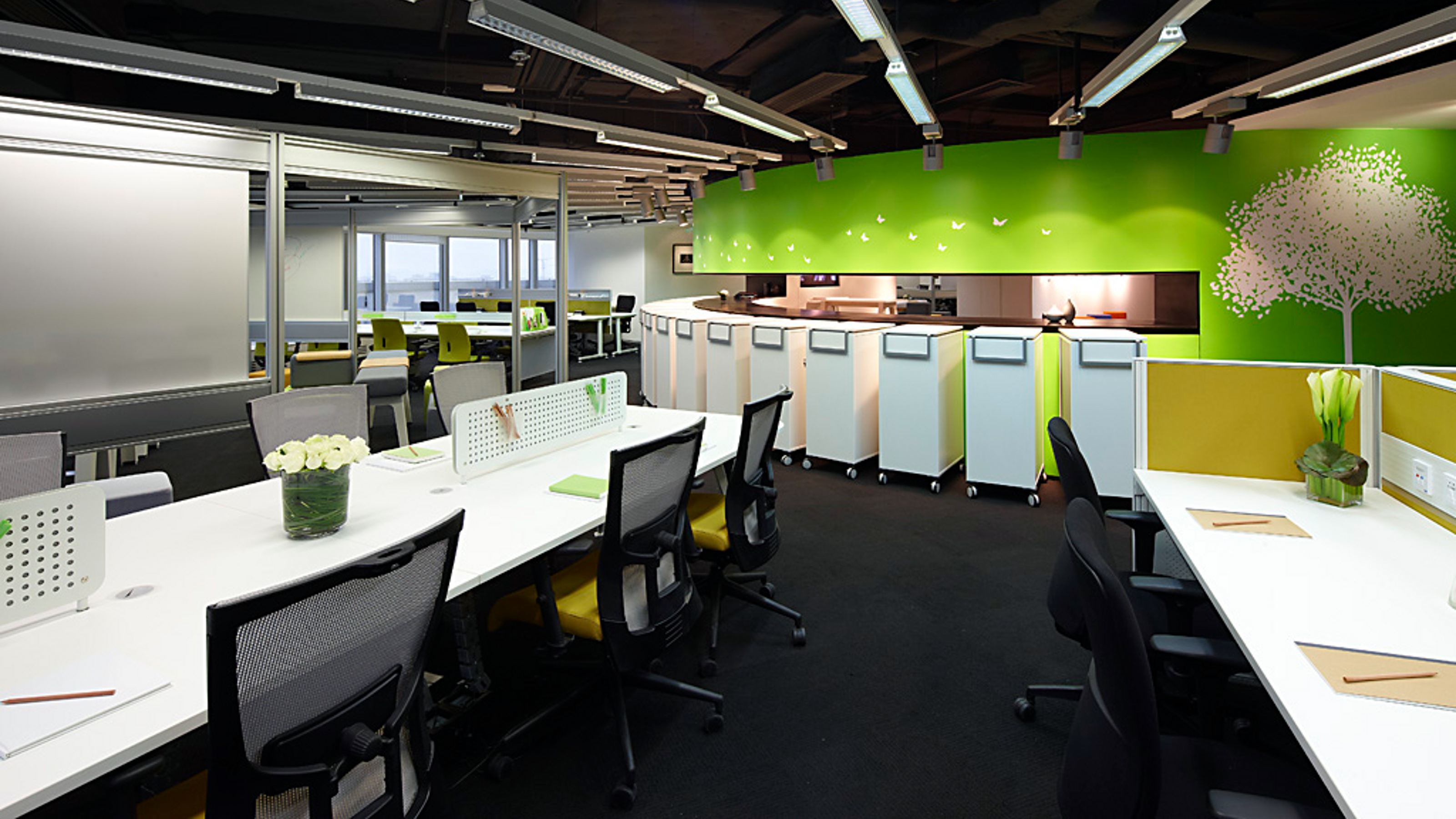 Asia Pacific Furniture Showrooms - Steelcase