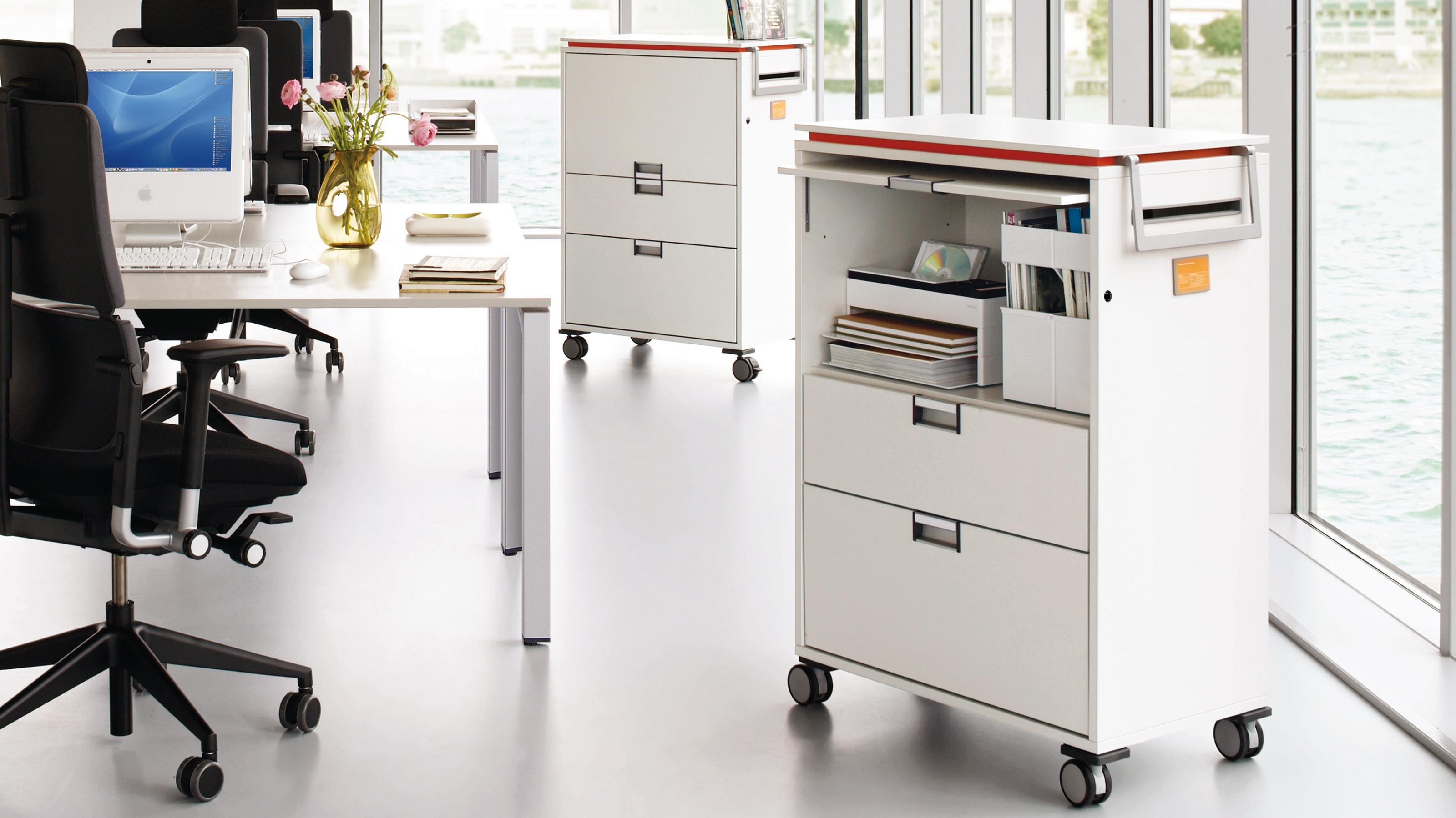 steelcase moby b ro rollcontainer und flexibler stauraum. Black Bedroom Furniture Sets. Home Design Ideas