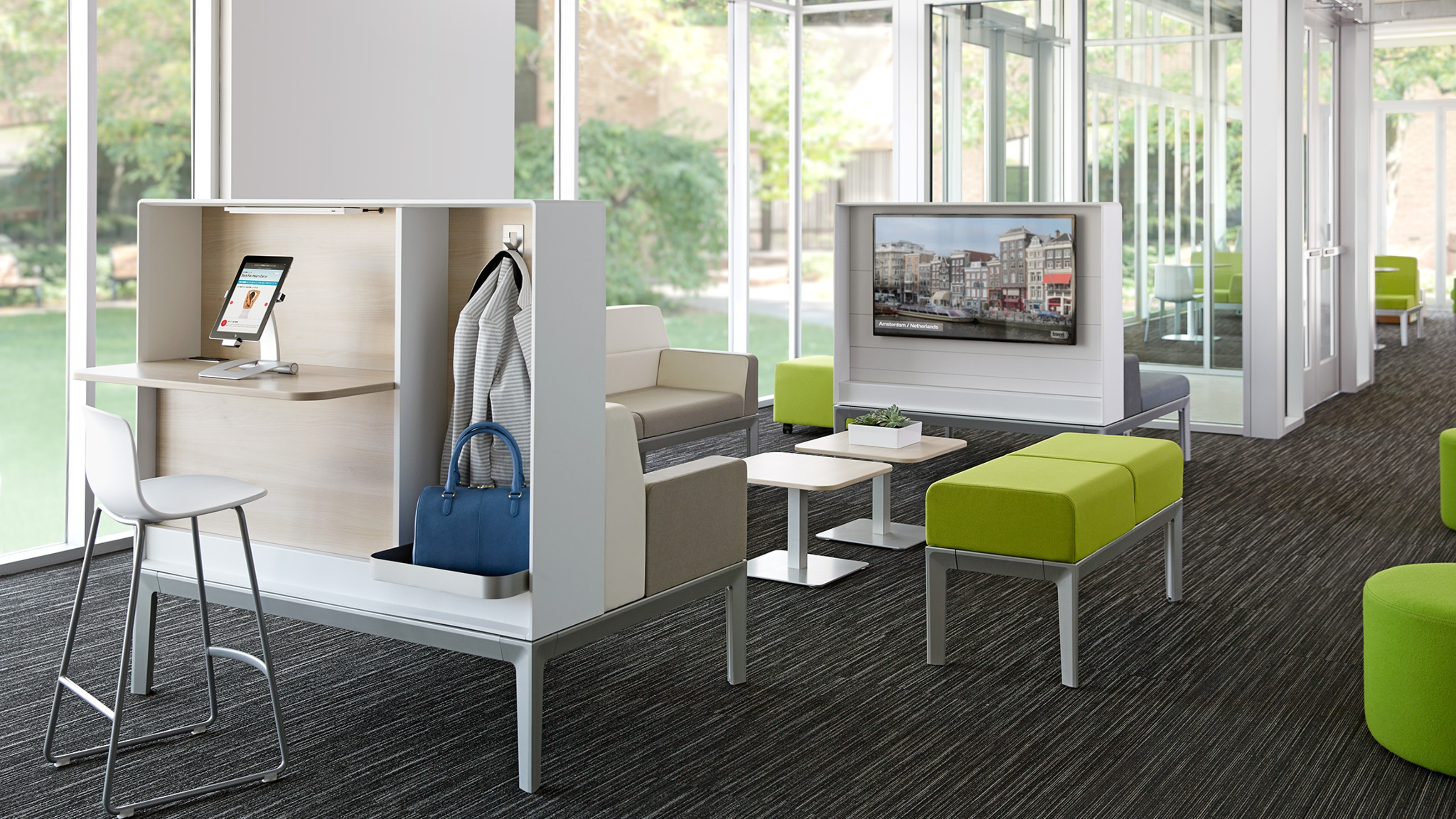 Regard Modular Lounge Seating & Casegoods - Steelcase