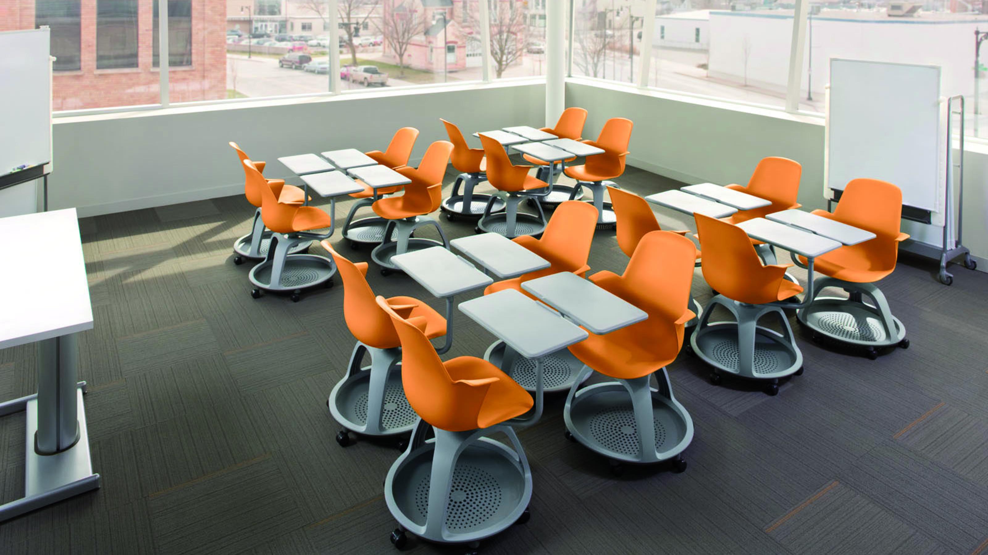 Diseño del Aula en la Implicación de los Estudiantes - Steelcase