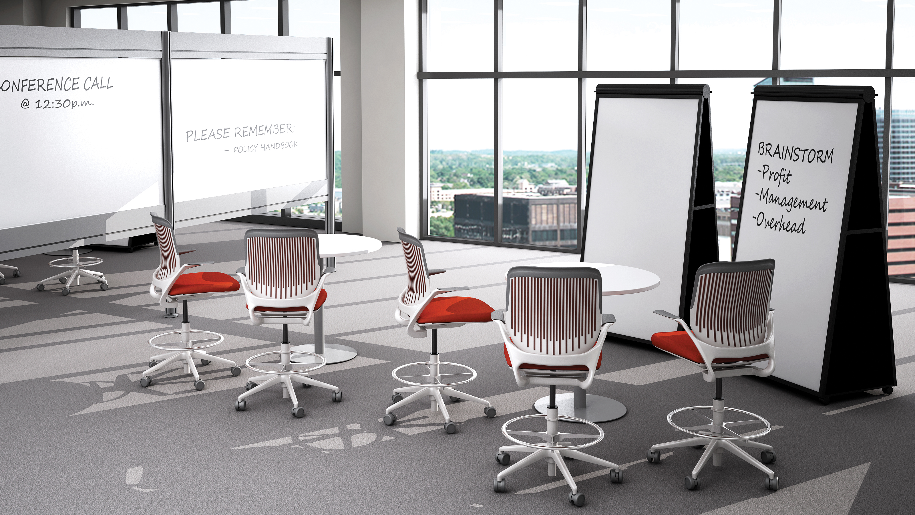 Groupwork Tables & Visual Worktools Steelcase