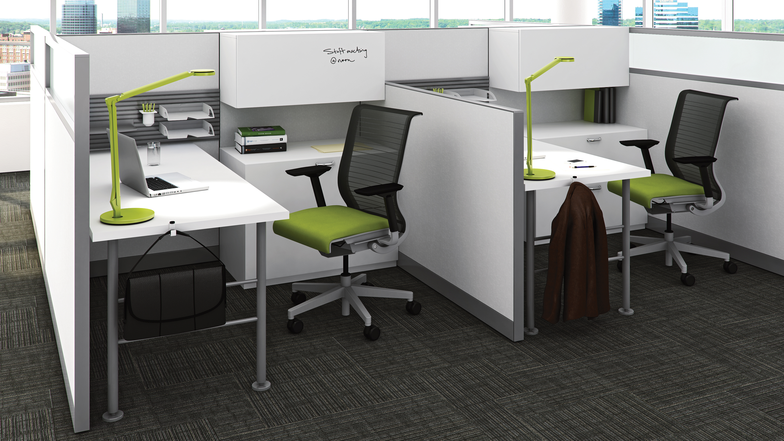 Kick Multi-Functional Office Workstations - Steelcase