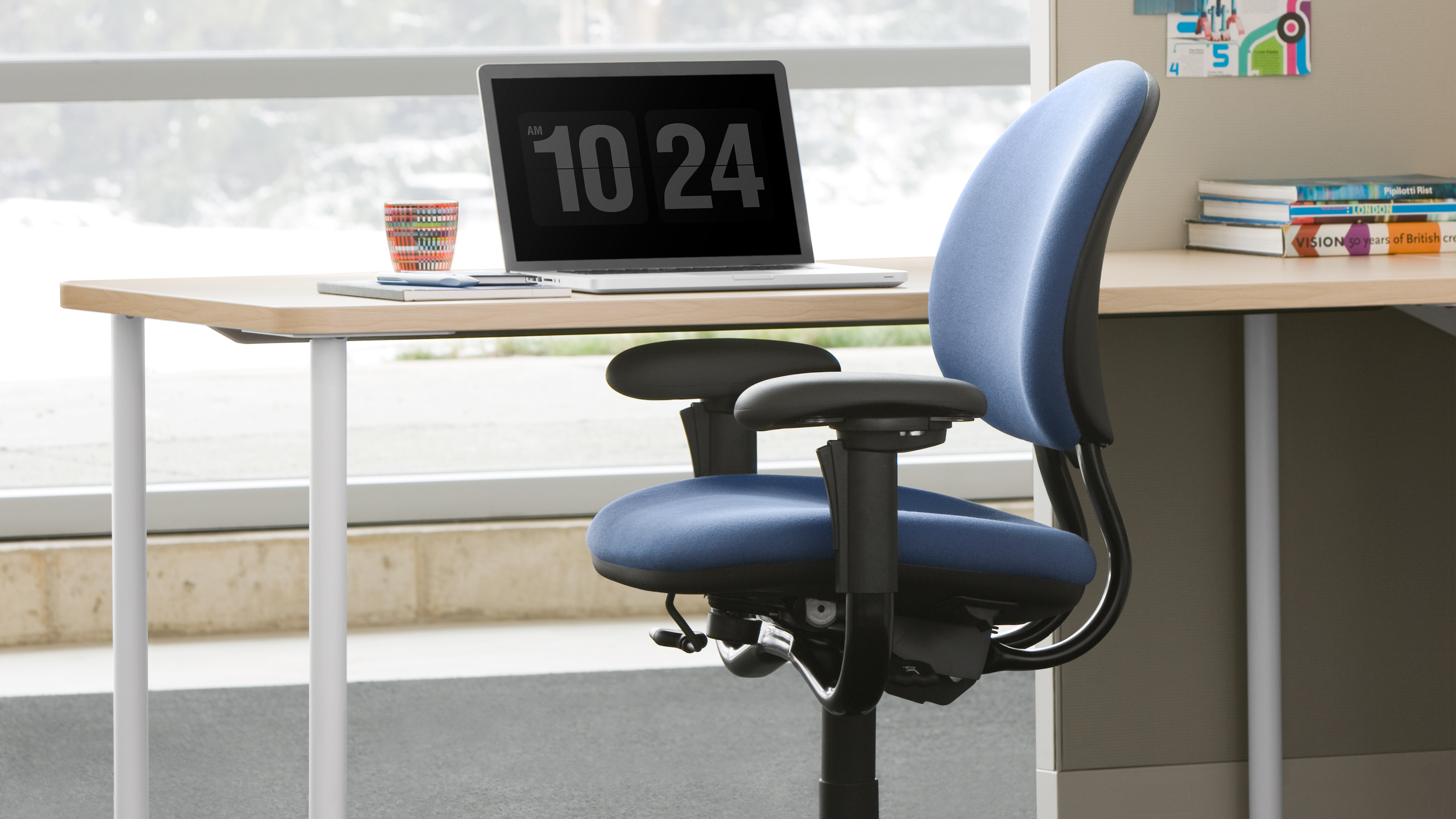 Criterion Task Chair With Adjustable Arms Steelcase