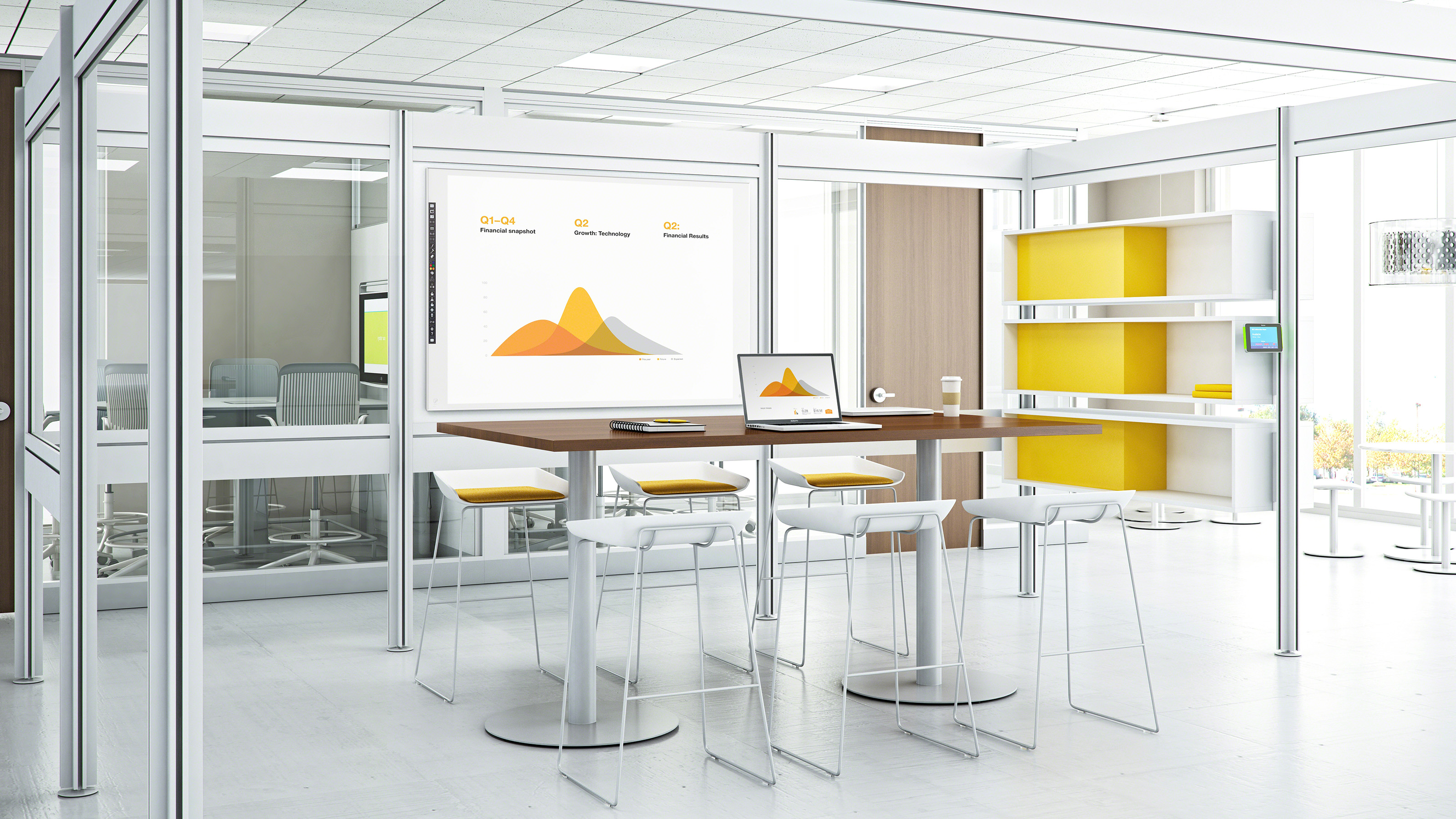 Post & Beam Office & Room Partitions - Steelcase