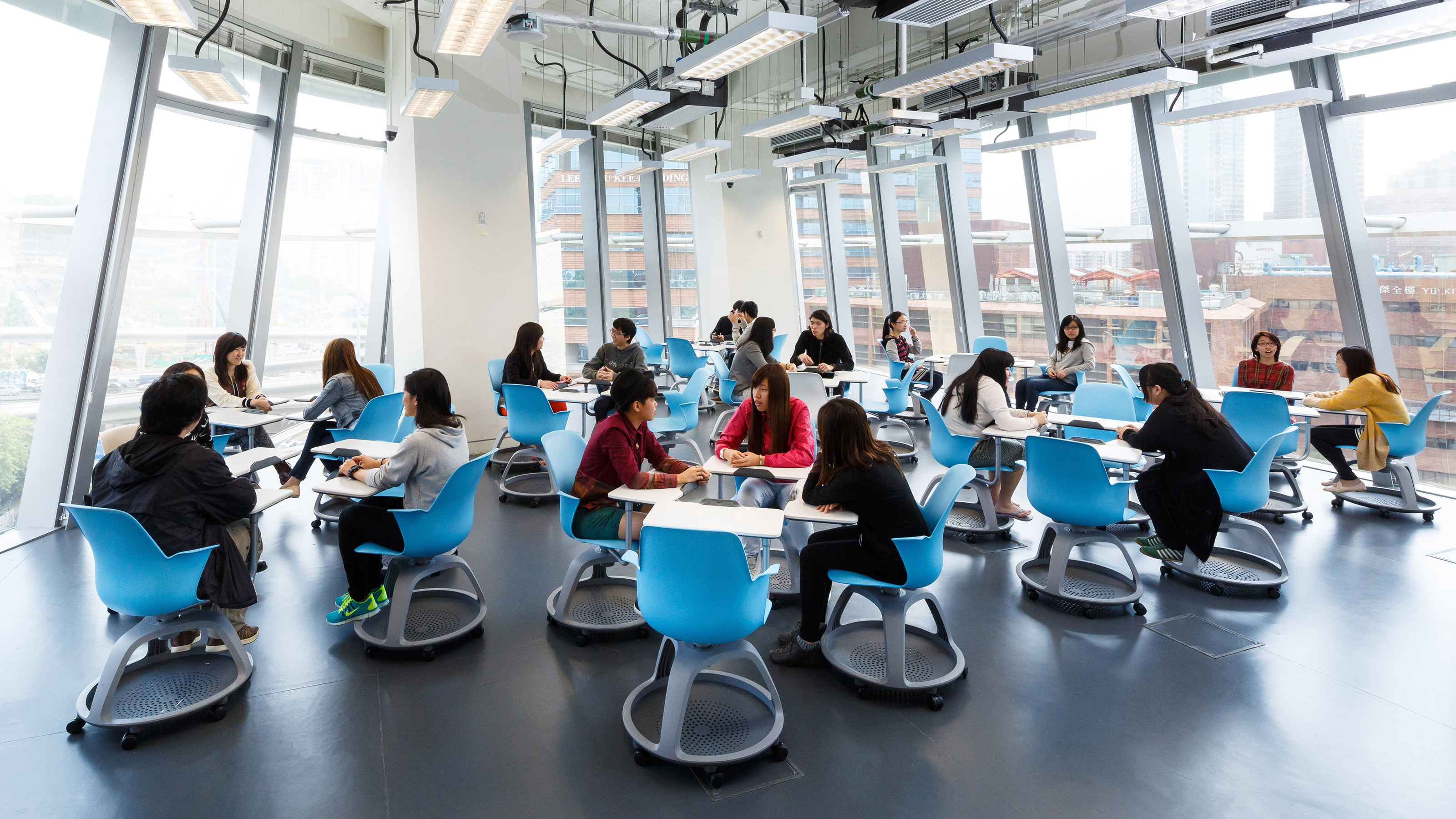 Innovative Classroom University ~ Hong kong polytechnic university innovation center