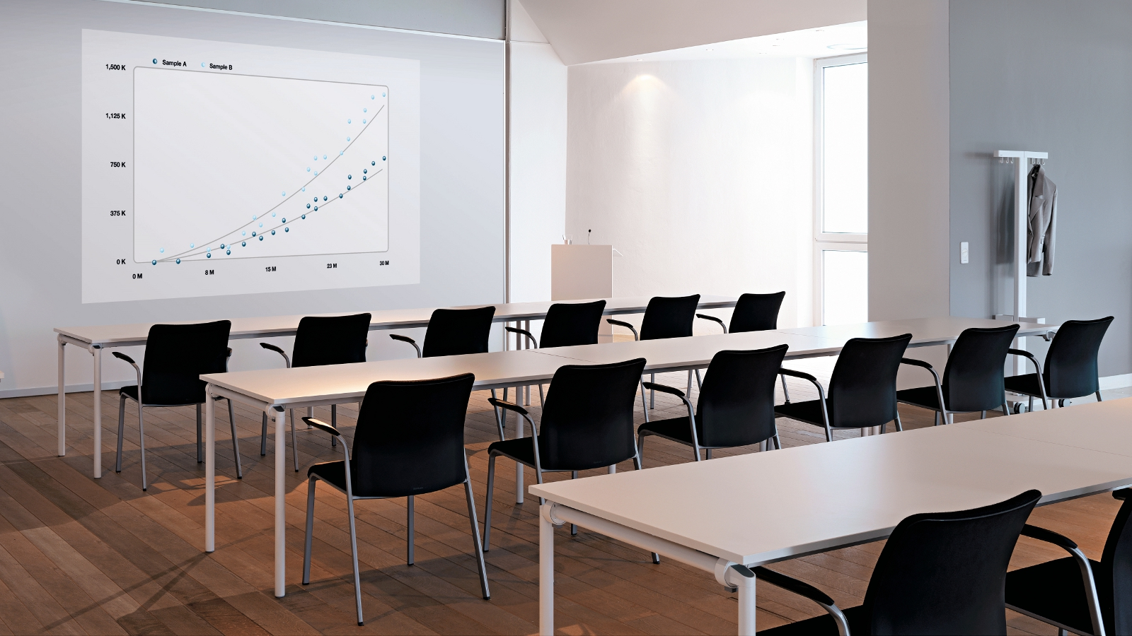Modern Classroom Certified Trainer : Eastside siège visiteur d accueil steelcase