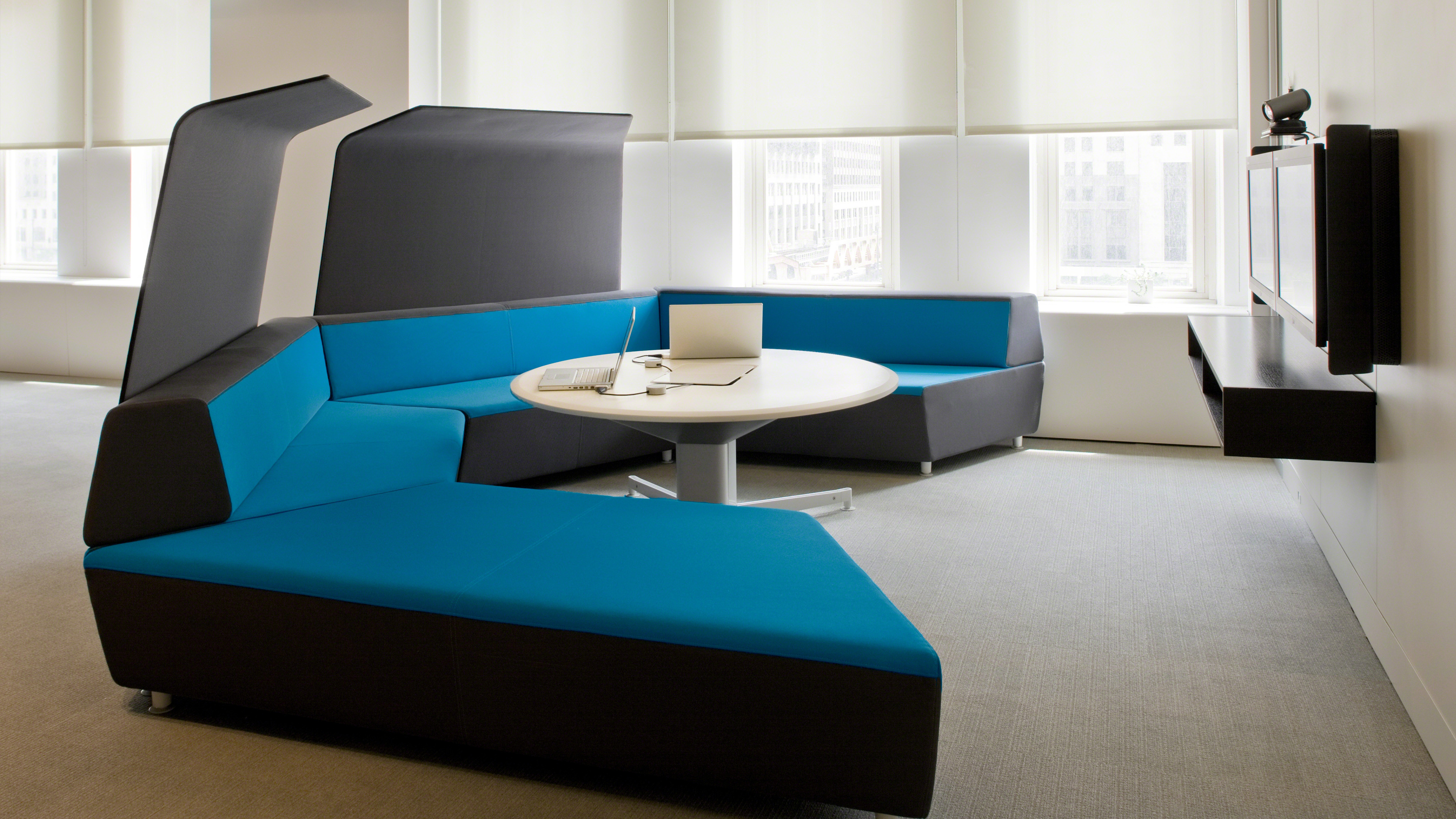 Media scape lounge seating office furnishings steelcase for Modern furniture companies