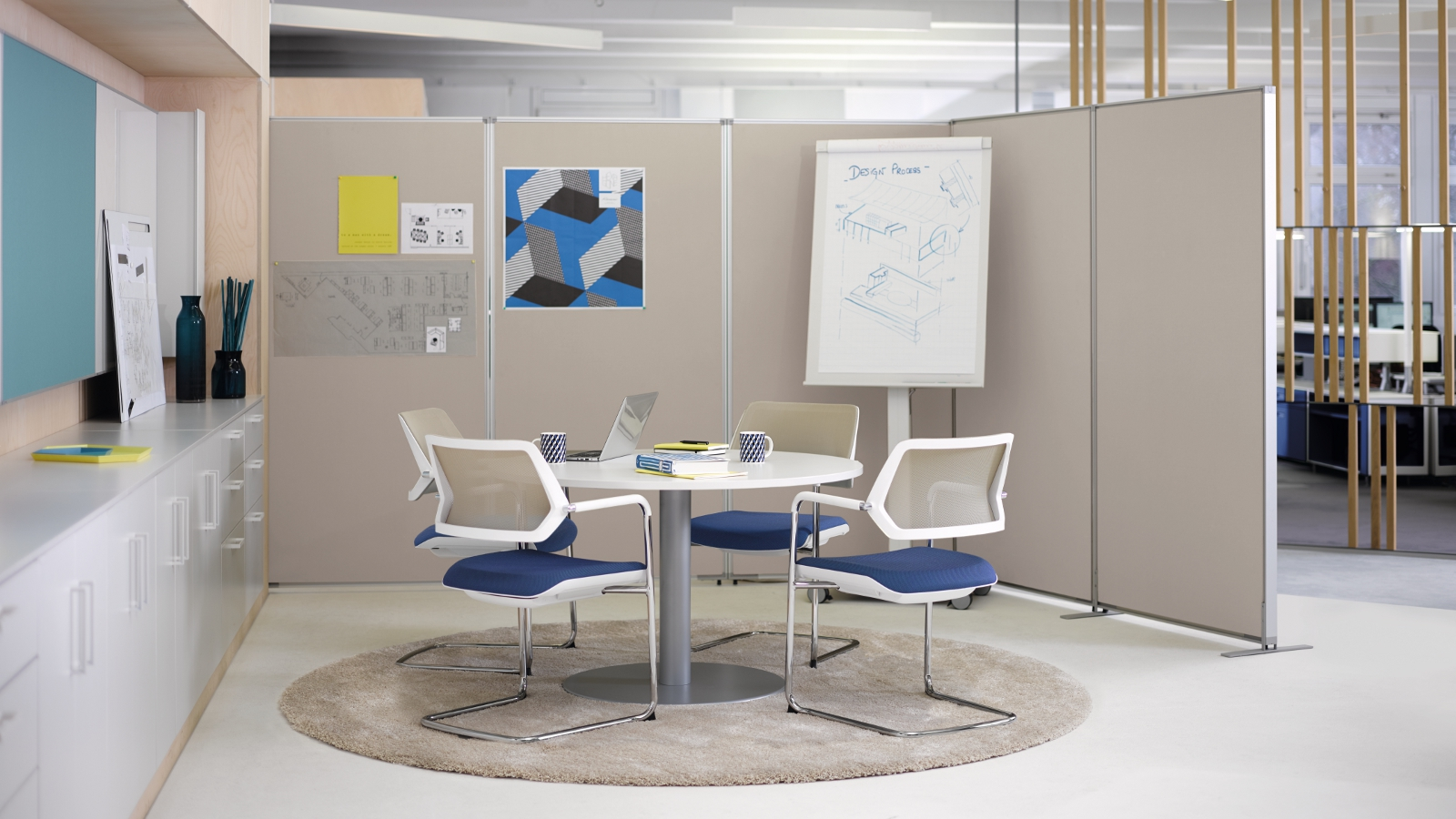 Partito wall open office room dividers steelcase