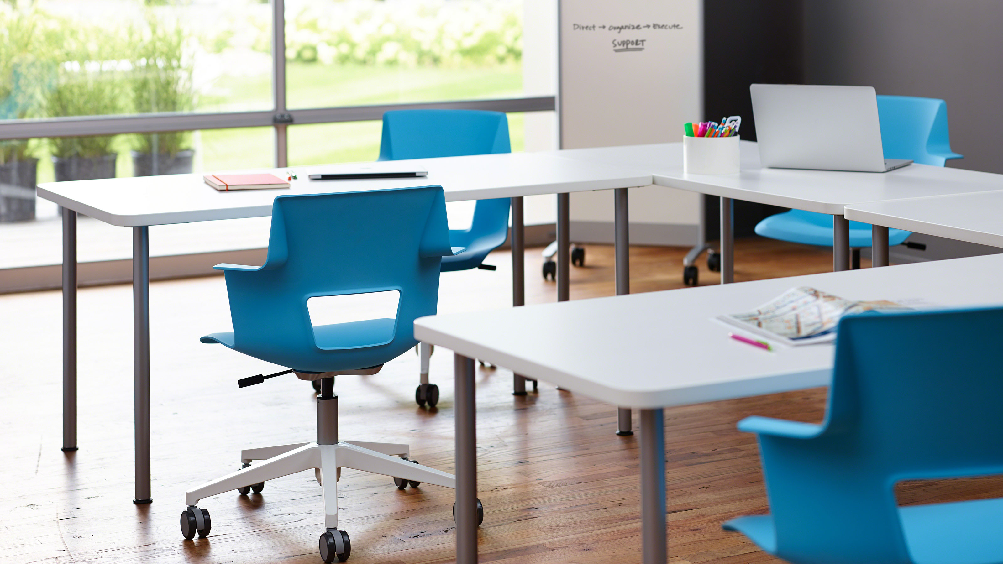 Shortcut fice Guest Chairs by Turnstone Steelcase